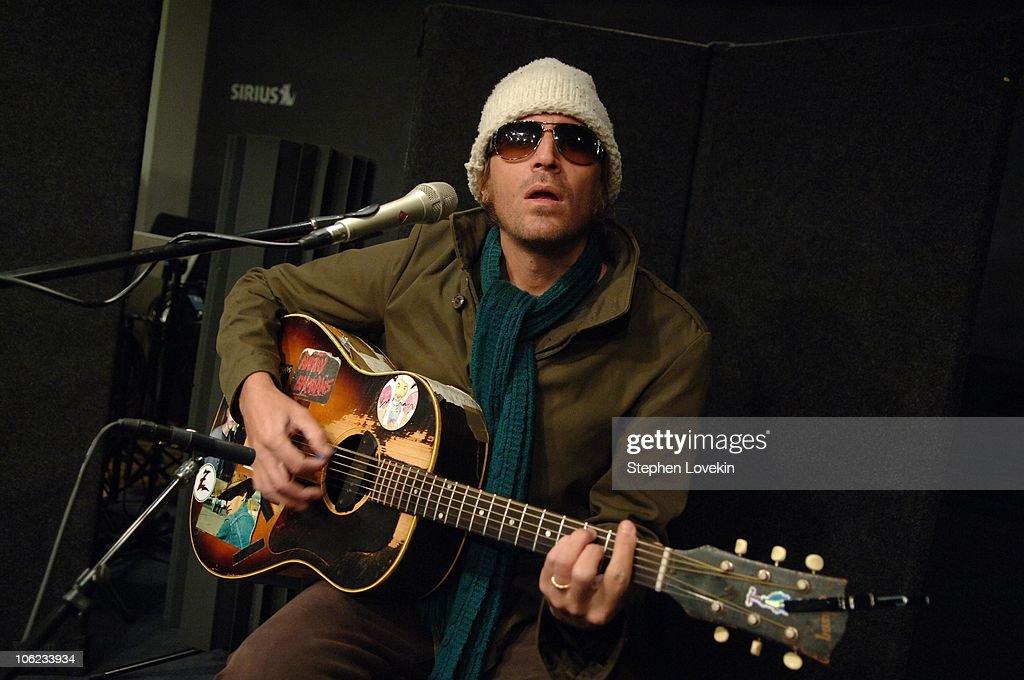Evan Dando of The Lemonheads during Evan Dando of The Lemonheads Visits Sirius Satellite Radio - January 23rd, 2007 at Sirius Satellite Studios in New York City, New York, United States.