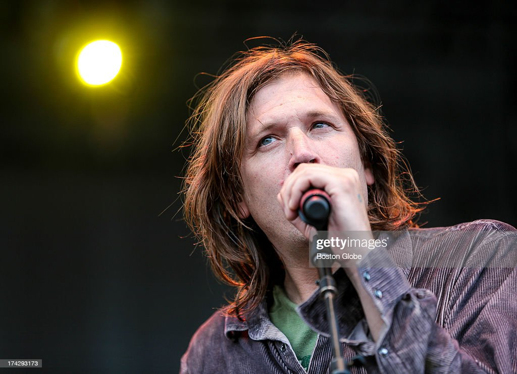 Evan Dando of The Lemonheads performs during the Outside the Box Performing Arts Festival held on the Boston Common.