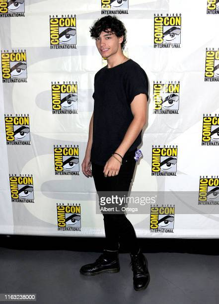 Evan Evagora attends the Enter The Star Trek Universe Panel during 2019 ComicCon International at San Diego Convention Center on July 20 2019 in San...