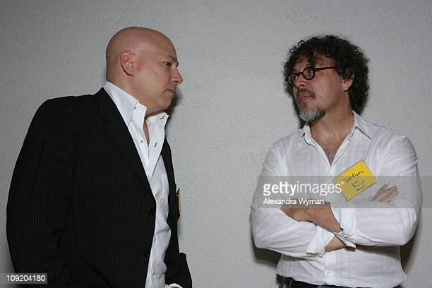 Evan Handler and Jose Riveria at the Sundance Film Festival Alumni Event held at The Hammer Museum on September 26 2007 in Westwood California