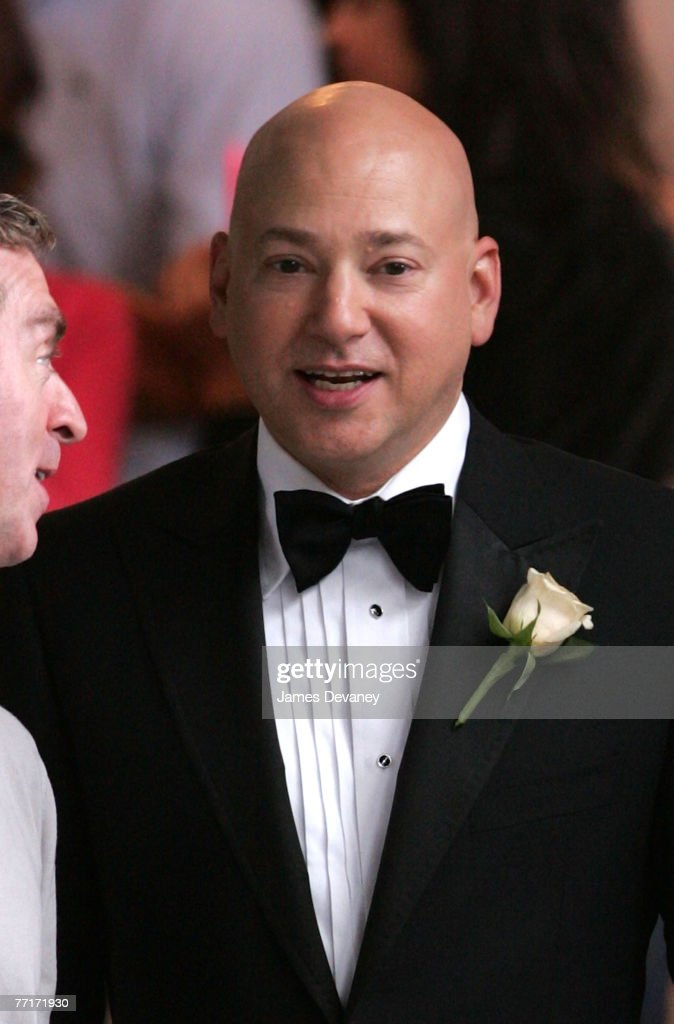Evan Handler on the set of 'Sex and the City: The Movie' on October 2, 2007 in New York City.