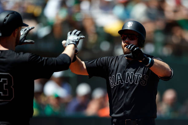 CA: San Francisco Giants v Oakland Athletics