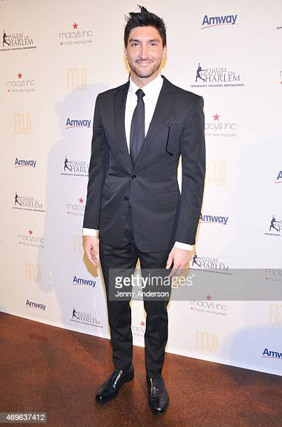 Evan Lysacek attends the 10th Annual Skating With The Stars Benefit Gala at 583 Park Avenue on April 13, 2015 in New York City.
