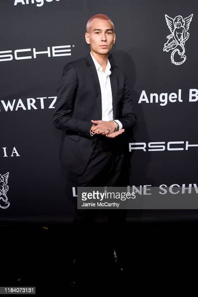 Evan Mock arrives at the Angel Ball 2019 hosted by Gabrielle's Angel Foundation at Cipriani Wall Street on October 28 2019 in New York City