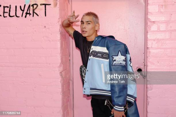 Evan Mock attends Pandora Street Of Loves on August 28 2019 in Los Angeles California