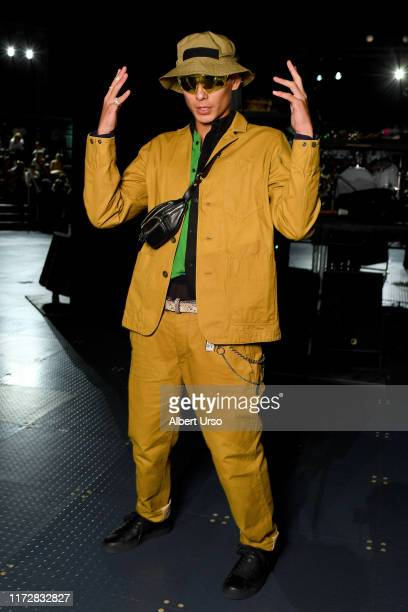Evan Mock attends the Rag Bone front row during New York Fashion Week The Shows on September 06 2019 in New York City