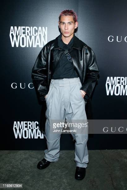 Evan Mock attends the screening of American Woman at Metrograph on December 12 2019 in New York City