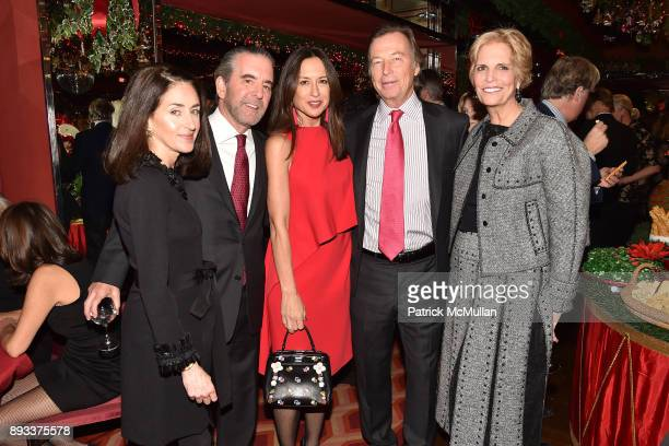 Evan Pepper David Jones Teresa Colley Bruce Colley and Laura Hunt attend A Christmas Cheer Holiday Party 2017 Hosted by George Farias Anne and Jay...