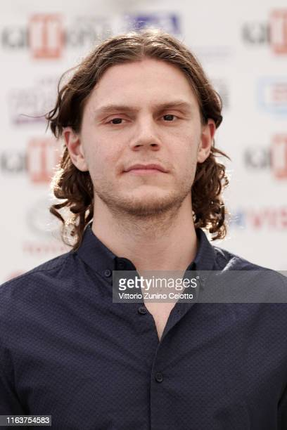 Evan Peters attends Giffoni Film Festival 2019 on July 23 2019 in Giffoni Valle Piana Italy