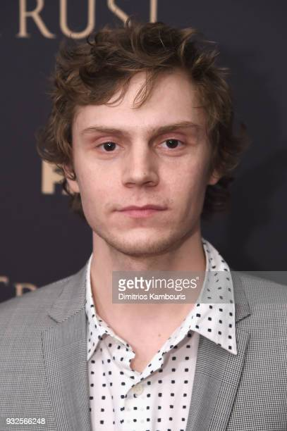 Evan Peters attends the 2018 FX Annual AllStar Party at SVA Theater on March 15 2018 in New York City