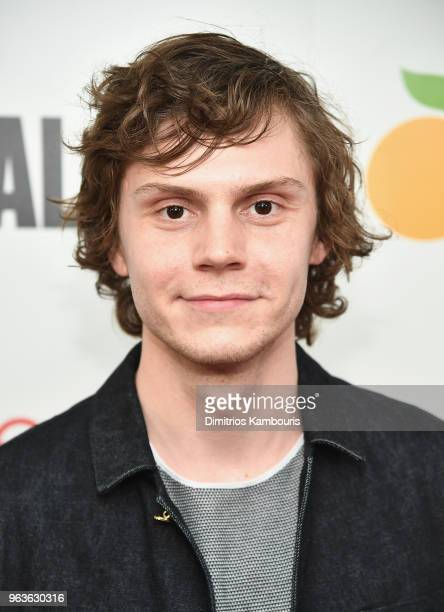 Evan Peters attends the 'American Animals' New York Premiere at Regal Union Square on May 29 2018 in New York City
