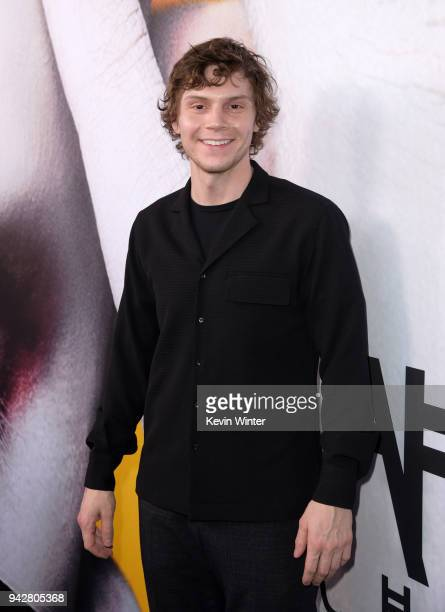 Evan Peters attends the American Horror Story Cult For Your Consideration Event at The WGA Theater on April 6 2018 in Beverly Hills California