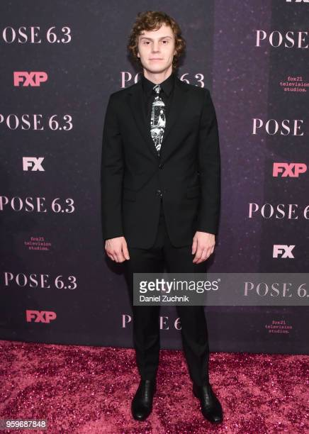 Evan Peters attends the FX TV series New York premiere of 'Pose' at Hammerstein Ballroom on May 17 2018 in New York City
