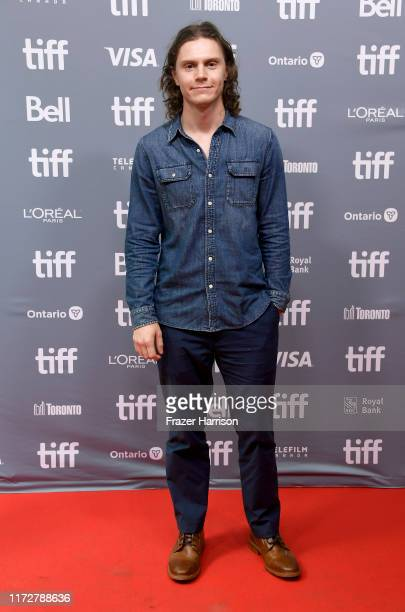 Evan Peters attends the I Am Woman press conference during the 2019 Toronto International Film Festival at TIFF Bell Lightbox on September 06 2019 in...