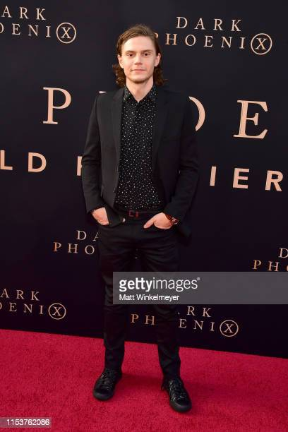 Evan Peters attends the premiere of 20th Century Fox's Dark Phoenix at TCL Chinese Theatre on June 04 2019 in Hollywood California