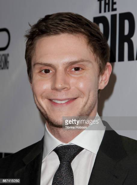 Evan Peters attends the premiere of 'The Pirates Of Somalia' at TCL Chinese 6 Theatres on December 6 2017 in Hollywood California