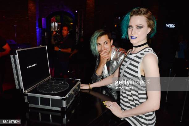 Evan Rachel Wood and Zach Villa perform at the Hard Rock Hotel San Diego on May 11 2017 in San Diego California