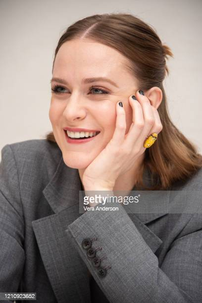 """Evan Rachel Wood at the """"Westworld"""" Press Conference at the Four Seasons Hotel on March 06, 2020 in Beverly Hills, California."""