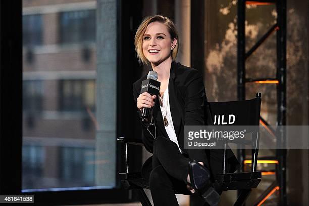 Evan Rachel Wood attends AOL's BUILD Speaker Series Evan Rachel Wood at AOL Studios In New York on January 16 2015 in New York City