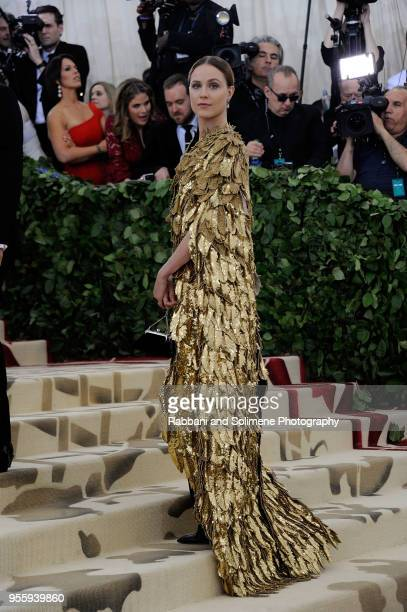 Evan Rachel Wood attends Heavenly Bodies Fashion The Catholic Imagination Costume Institute Gala at the Metropolitan Museum of Art in New York City