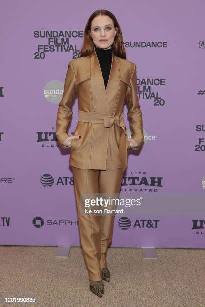 "Evan Rachel Wood attends the 2020 Sundance Film Festival - ""Kajillionaire"" Premiere at Eccles Center Theatre on January 25, 2020 in Park City, Utah."