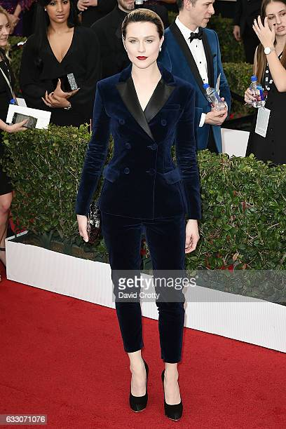 Evan Rachel Wood attends the 23rd Annual Screen Actors Guild Awards at The Shrine Expo Hall on January 29 2017 in Los Angeles California