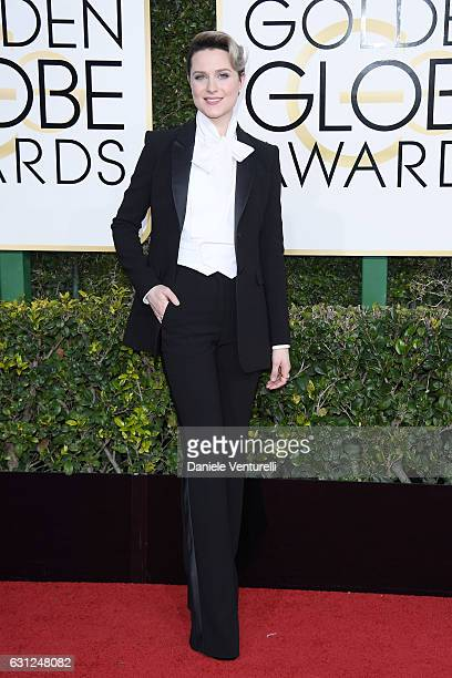 Evan Rachel Wood attends the 74th Annual Golden Globe Awards at The Beverly Hilton Hotel on January 8 2017 in Beverly Hills California