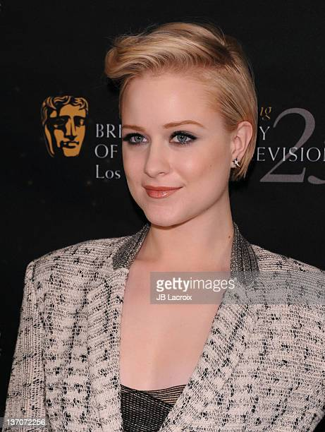 Evan Rachel Wood attends The BAFTA Los Angeles' 18th annual Awards Season Tea Party held at Four Seasons Hotel Los Angeles at Beverly Hills on...