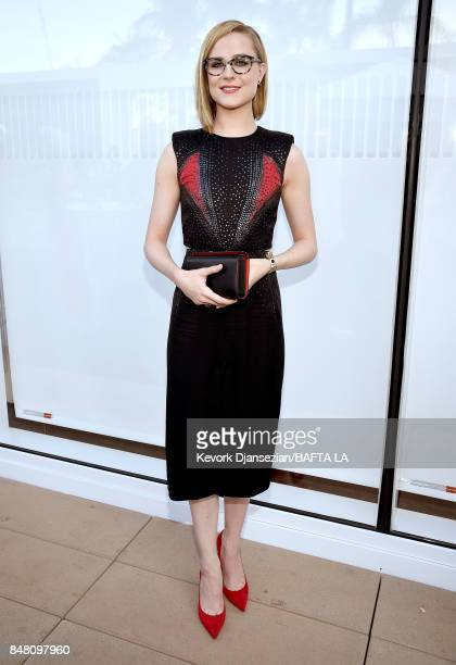 Evan Rachel Wood attends the BBC America BAFTA Los Angeles TV Tea Party 2017 at The Beverly Hilton Hotel on September 16 2017 in Beverly Hills...