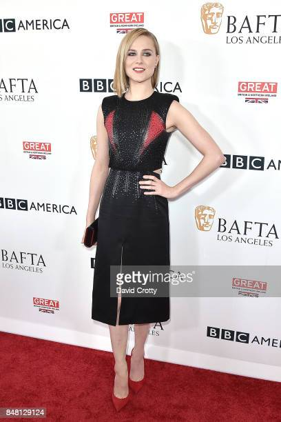 Evan Rachel Wood attends the BBC America BAFTA Los Angeles TV Tea Party 2017 Arrivals at The Beverly Hilton Hotel on September 16 2017 in Beverly...
