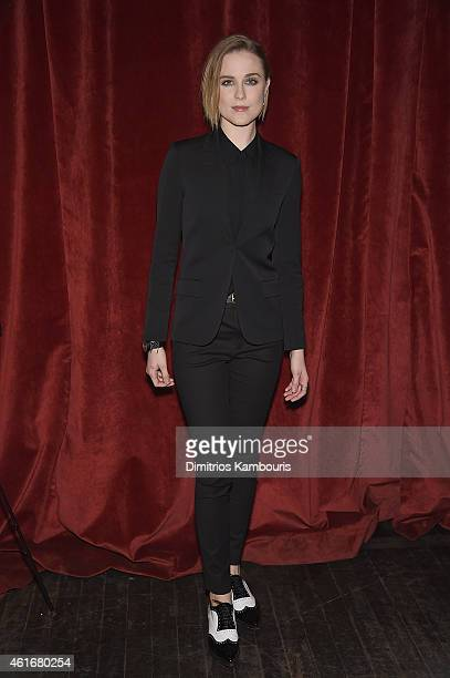 Evan Rachel Wood attends The New York Special Screening Of Lucasfilm's STRANGE MAGIC At The Tribeca Grand Hotel Hosted By The Cinema Society on...