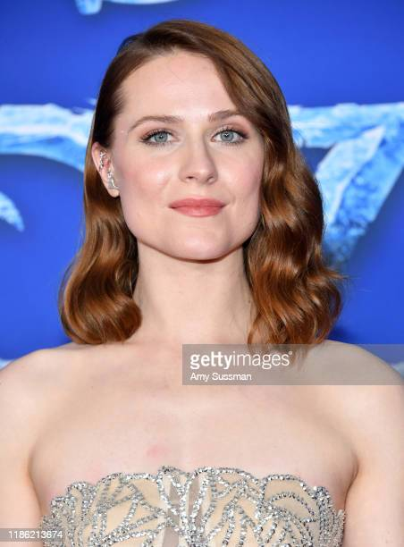 Evan Rachel Wood attends the premiere of Disney's Frozen 2 at Dolby Theatre on November 07 2019 in Hollywood California