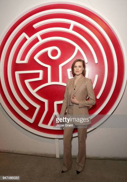 Evan Rachel Wood attends the Premiere of HBO's Westworld Season 2 After Party on April 16 2018 in Los Angeles California