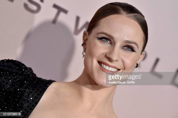 "Evan Rachel Wood attends the premiere of HBO's ""Westworld"" Season 3 at TCL Chinese Theatre on March 05, 2020 in Hollywood, California."