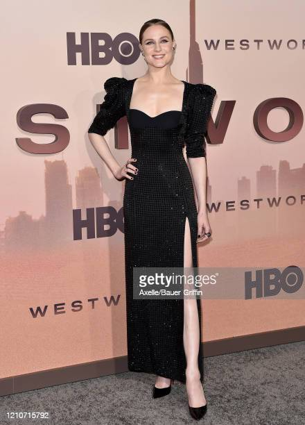 """Evan Rachel Wood attends the premiere of HBO's """"Westworld"""" Season 3 at TCL Chinese Theatre on March 05, 2020 in Hollywood, California."""