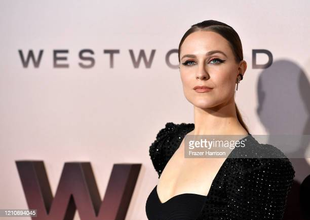 "Evan Rachel Wood attends the Premiere Of HBO's ""Westworld"" Season 3 TCL Chinese Theatre on March 05, 2020 in Hollywood, California."