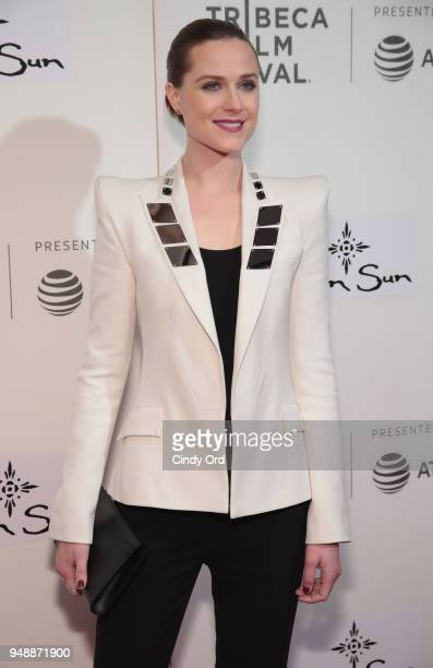 Evan Rachel Wood attends the premiere of 'Westworld' during the 2018 Tribeca Film Festival at BMCC Tribeca PAC on April 19 2018 in New York City
