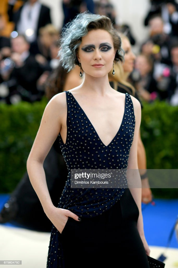 Evan Rachel Wood attends the 'Rei Kawakubo/Comme des Garcons: Art Of The In-Between' Costume Institute Gala at Metropolitan Museum of Art on May 1, 2017 in New York City.