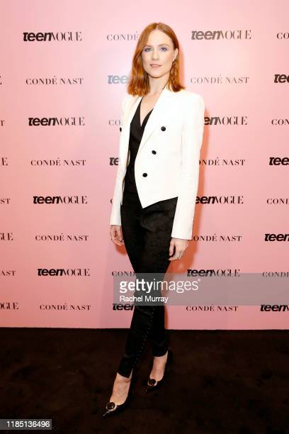 Evan Rachel Wood attends the Teen Vogue Summit 2019 at Goya Studios on November 02 2019 in Los Angeles California