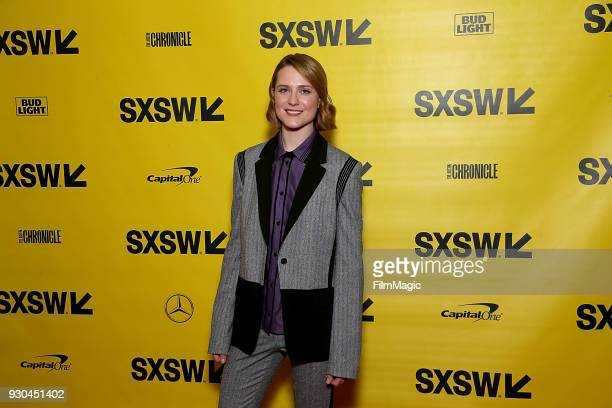 Evan Rachel Wood attends the Westworld Featured Session during SXSW at Austin Convention Center on March 10 2018 in Austin Texas