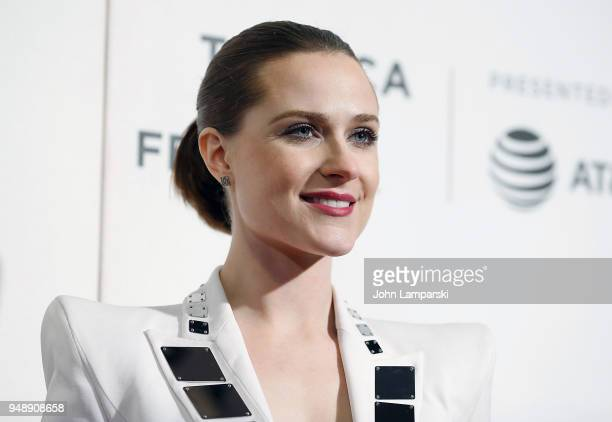 Evan Rachel Wood attends Westworld during the 2018 Tribeca Film Festival at BMCC Tribeca PAC on April 19 2018 in New York City