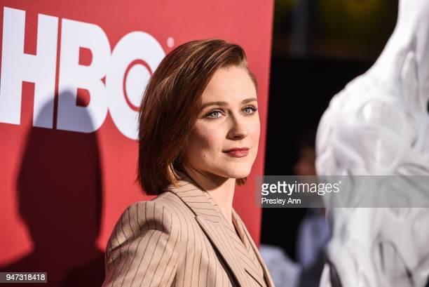 Evan Rachel Wood attends Westworld Season 2 Los Angeles Premiere on April 16 2018 in Los Angeles California