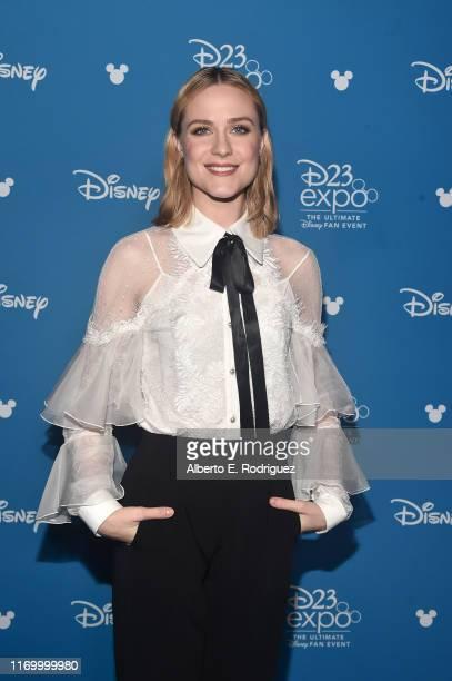 Evan Rachel Wood of 'Frozen 2' took part today in the Walt Disney Studios presentation at Disney's D23 EXPO 2019 in Anaheim, Calif. 'Frozen 2' will...