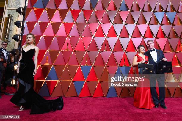 Evan Rachel Wood PricewaterhouseCoopers representatives attend the 89th Annual Academy Awards at Hollywood Highland Center on February 26 2017 in...