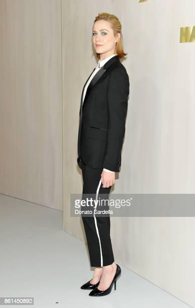 Evan Rachel Wood wearing Bottega Veneta at the Hammer Museum 15th Annual Gala in the Garden with Generous Support from Bottega Veneta on October 14...