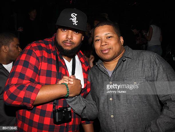 **EXCLUSIVE** Evan Rogers and Devo Springsteen attend Ryan Leslie's after party at Greenhouse on March 12 2009 in New York City