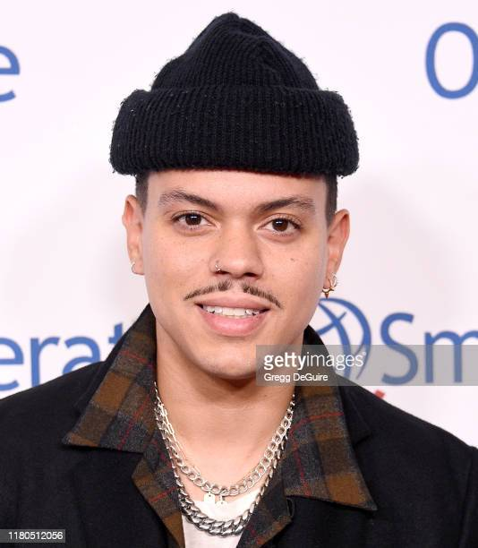 Evan Ross arrives at Operation Smile's Hollywood Fight Night at The Beverly Hilton Hotel on November 6, 2019 in Beverly Hills, California.