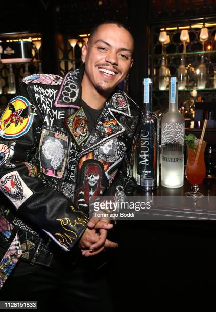 Evan Ross at Belvedere Vodka Celebrates Warner Music Group's 61st Annual Grammy Award Nominees at the PreAward Show Party at the NoMad Hotel In LA on...