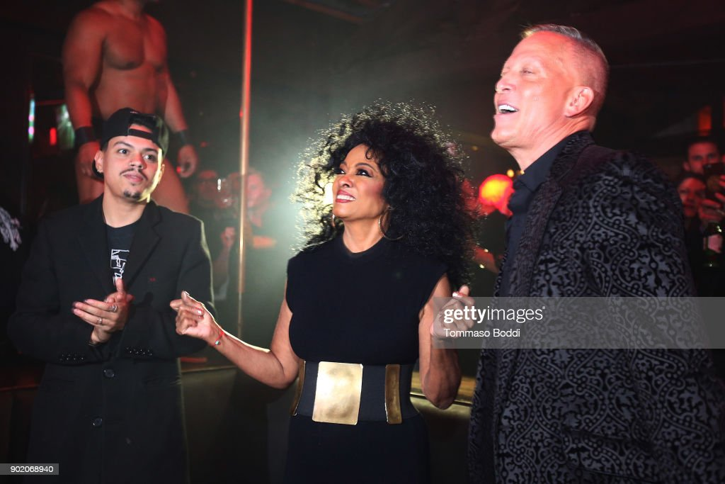 "Diana Ross Makes Surprise Appearance At The Abbey To Greet Fans And Promote Her New Remix Of ""Ain't No Mountain High Enough"""