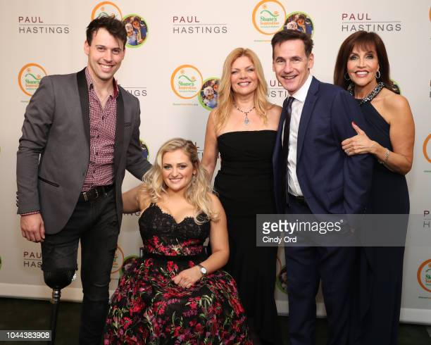 Evan Ruggiero Ali Stroker Shane's Inspiration CEO Tiffany Harris Andrew MacBean and Joan Ryan attend Broadway's Best Comes Together To Salute Chita...